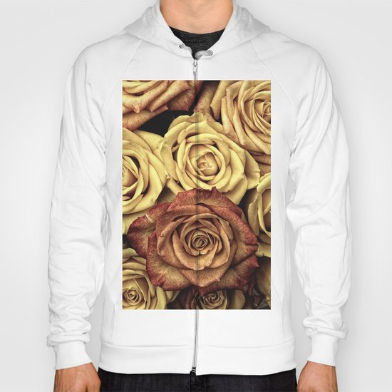 Roses jaunes Hoody