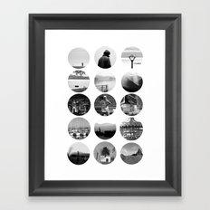 Around the World Framed Art Print
