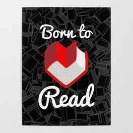 Born to Read Poster