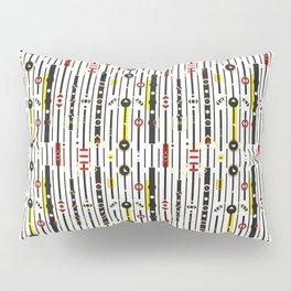 Punky retro graphic Pillow Sham