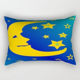 Mr. Moon Rectangular Pillow