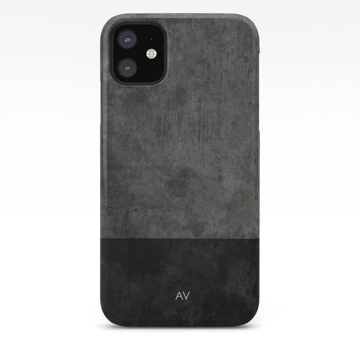 Dark luxury concrete  iPhone Case