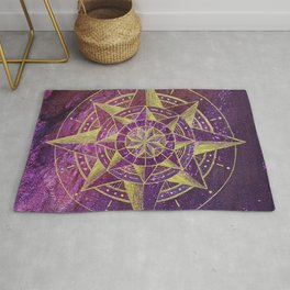 Into the Mystic Compass Rug