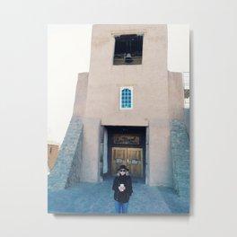 Santa Fe Selfie  Metal Print