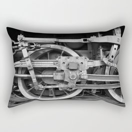 locomotive wheels Rectangular Pillow