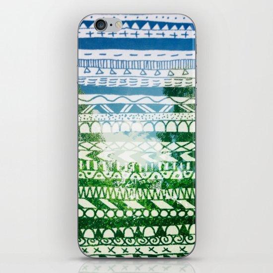 Hipstapattern iPhone & iPod Skin