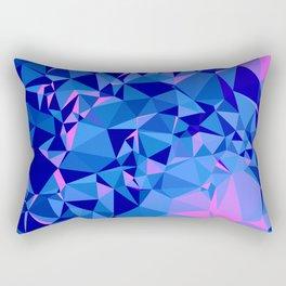 Shades of Blue Rectangular Pillow