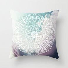 RAINBOW CHIC MANDALA Throw Pillow