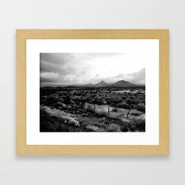 West Texas Dirt Framed Art Print