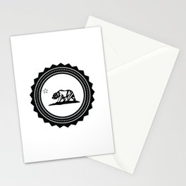 CALI WHITE Stationery Cards