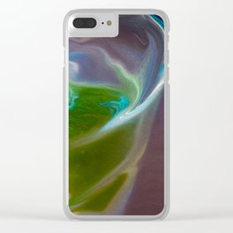 Cocktail With Lime Clear iPhone Case
