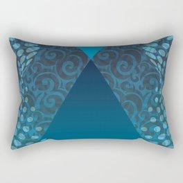 Pyramid Magic Abstract Rectangular Pillow