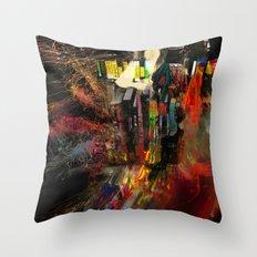 A Mountain Man Throw Pillow