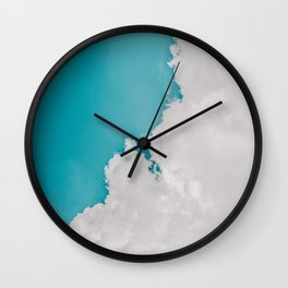 #Vintage Sky Wall Clock