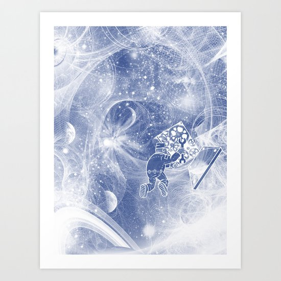 Quantum Mechanic Art Print