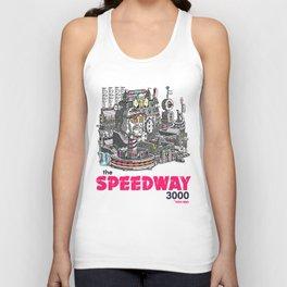"Javier Arres T-Shirts/Camisetas ""The Speedway 3000"" Unisex Tank Top"