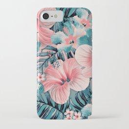 Vintage Jade Coral Aloha iPhone Case
