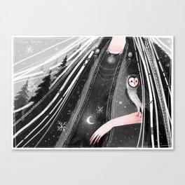 Snowtorm Canvas Print