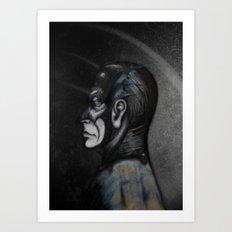 Bat Men Art Print
