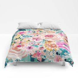 SMELLS LIKE PEACH BEACH Comforters