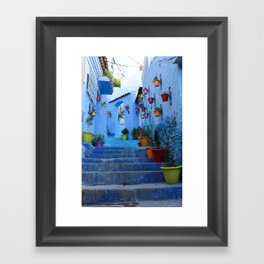Bright Streets Framed Art Print