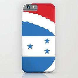Honduras Christmas sant claus flag designs  iPhone Case