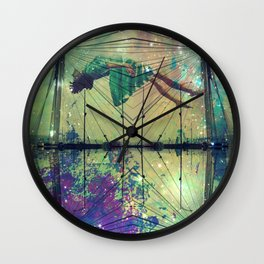 Bridging Time Wall Clock