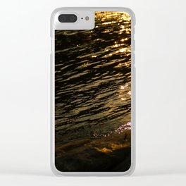 The brilliant river in the sun Clear iPhone Case