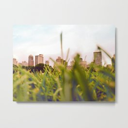 Sheep Meadow (Central Park, New York) Metal Print