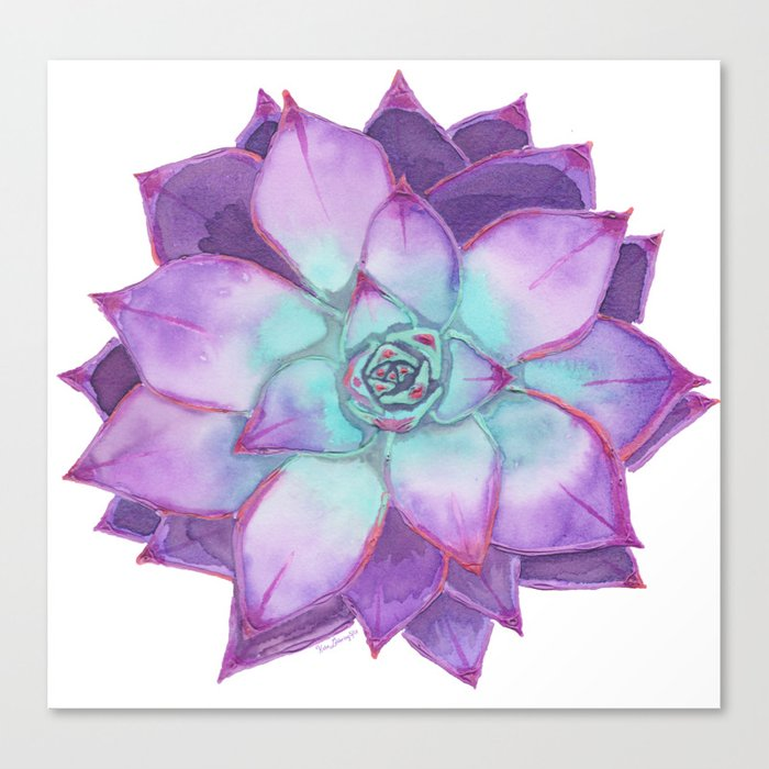Sovereign Succulent Canvas Print
