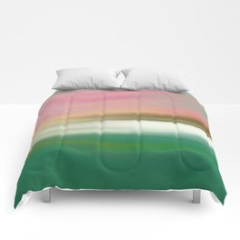 Northern Lake Sunrise Comforters