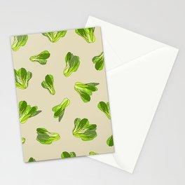 Lettuce Bok Choy Vegetable Stationery Cards