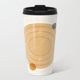 Saturn I Metal Travel Mug
