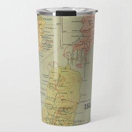Vintage Map of The Canary Islands (1916) Travel Mug