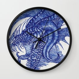 Dragon Intruder Wall Clock