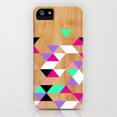 Geometric Pink Polygons Slim Case iPhone (5, 5s)