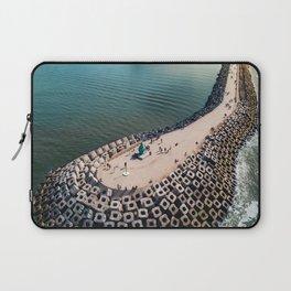Coast of Belgium Laptop Sleeve