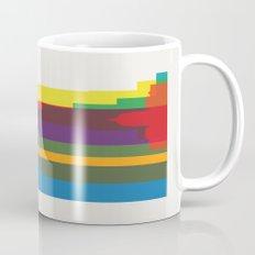 Shapes of Atlanta. Accurate to scale Mug