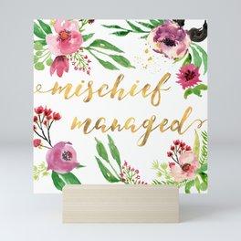 Mischief Managed Garden Mini Art Print
