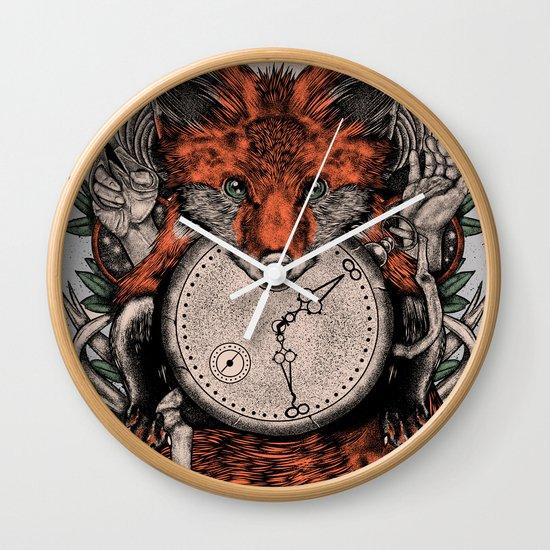Chaos Fox Wall Clock