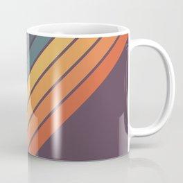 Classic 70s Style Retro Stripes - Dalana Coffee Mug