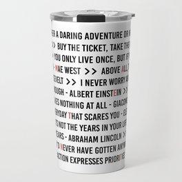 Make It Count Travel Mug