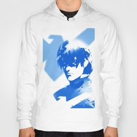 nightwing Hoodies featuring Nightwing Gradient #01 by markclarkii
