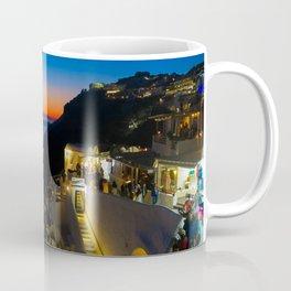 fira sunset-Santorini Coffee Mug