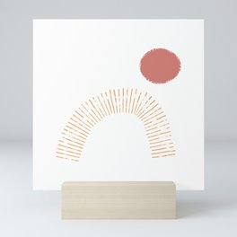 Red Sun Mini Art Print