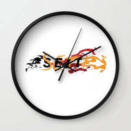 League of Legends Sett Punch Wall Clock