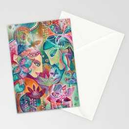 Divine Union by Justine Aldersey-Williams Stationery Cards