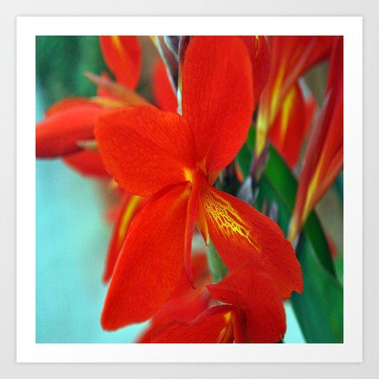 flower nature #   ###    # Art Print