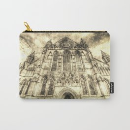 York Minster Cathedral Vintage Carry-All Pouch