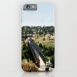 Tailem Bend Bridge over the Murray River iPhone Case